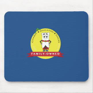 Mighty Molarman Seal of Approval Mousepad