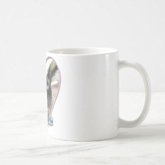 'Mika' Siamese cat mug