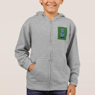 Mike Kids' American Apparel Flex Fleece Zip Hoodie