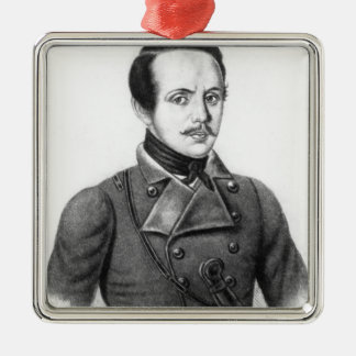 Mikhail Yuryevich Lermontov Christmas Ornament