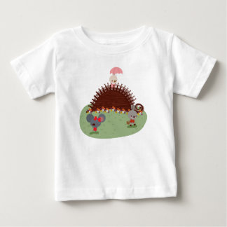 Mila Bunny and Friends from Fairy Tale Kingdom Baby T-Shirt