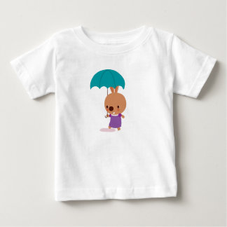 Mila Bunny with Umbrella from Fairy Tale Kingdom Baby T-Shirt
