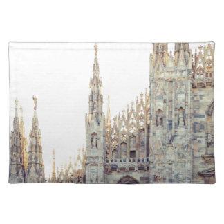 Milan Cathedral Placemat