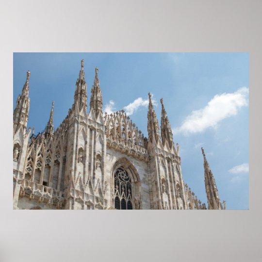 Milan Duomo Poster