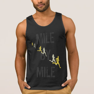 Mile By Mile Runners Singlet
