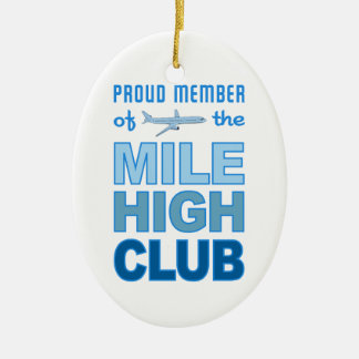 Mile High Club ornament, customize
