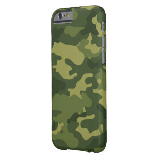 Military Camo Pattern Barely There iPhone 6 Case