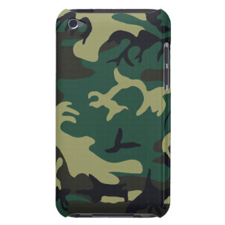 Military Camouflage Barely There™ iPod Touch Case