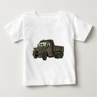 Military Dump Truck Cartoon Tee Shirt