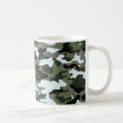 Military Green Camo Mug