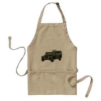 Military Hummer Apron