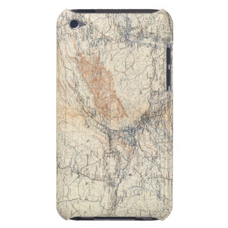 Military map, WT Sherman iPod Case-Mate Case