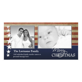 Military / Patriotic Christmas Photo Card