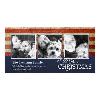 Military / Patriotic Christmas Photo Card