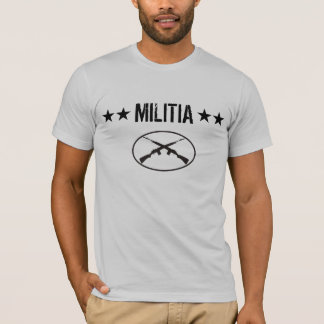 Militia Stars - M1A, M14 T-Shirt
