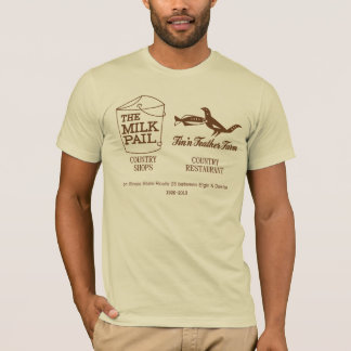 Milk Pail - Fin'n Feather Farm, Dundee, Illinois T-Shirt