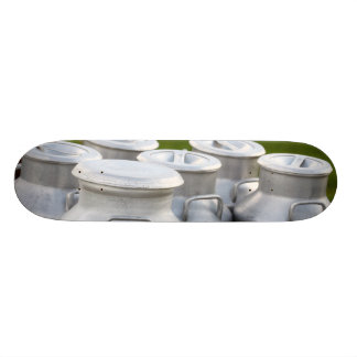 Milk urns skateboard decks