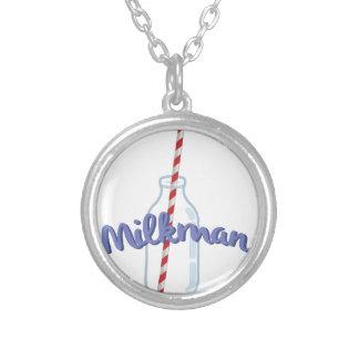 Milkman Round Pendant Necklace