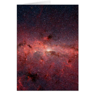 Milky Way Galactic Center, Stars, Clouds, Clusters Card