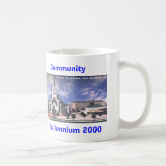 millenium 2000 coffee mug