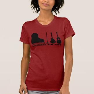 Million Dollar Quartet Instruments - Black T-Shirt