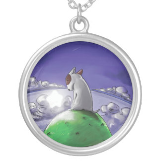 Milo and the star silver plated necklace