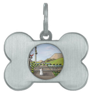 Milo at the junction pet ID tags
