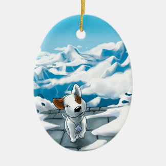 Milo is here! christmas ornament