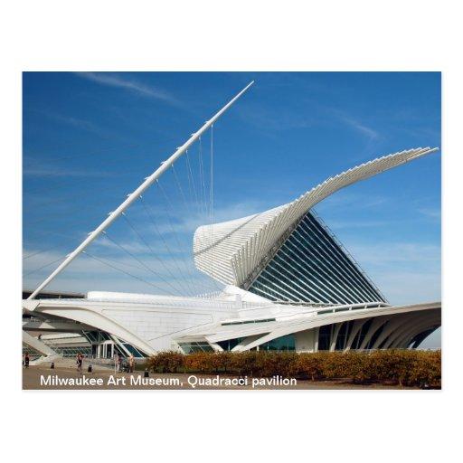 Milwaukee Art Museum, Quadracci Pavilion Post Card