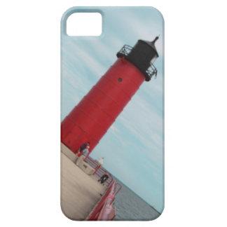 Milwaukee Pierhead Red Lighthouse iPhone case