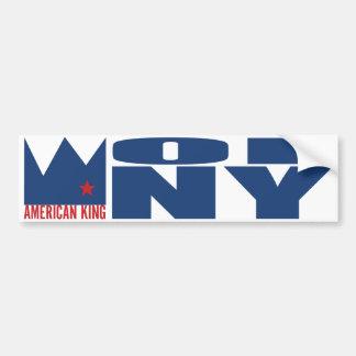 MIMS Bumper Sticker - American King of N Y