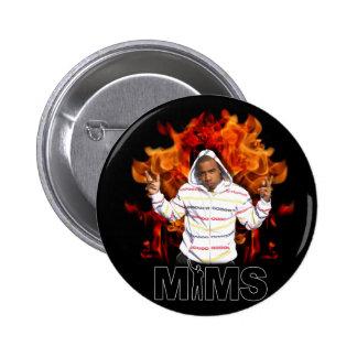 MIMS Button - Eternal Flame
