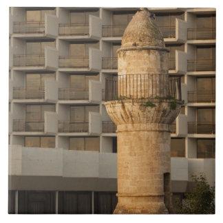 Minaret of the Jama al-Bahr waterfront mosque Tile