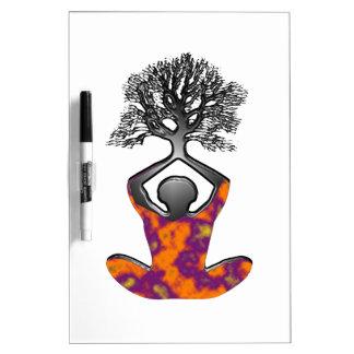 Mind, Body, Spirit Dry Erase Board