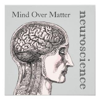 Mind Over Matter Brain Neuroscience Invitations