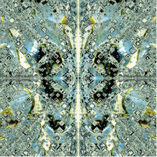 Mind-stream of a Butterfly 2 Standing Photo Sculpture