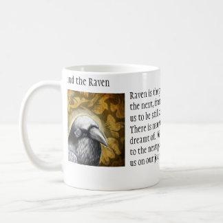 Mind the Raven Basic White Mug