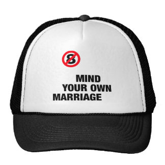 Mind Your Own Marriage Trucker Hats