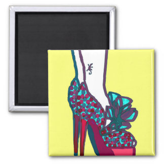 Mini Art Extreme Shoes Refrigerator Magnet