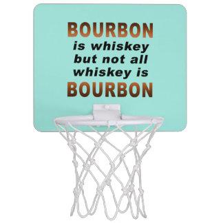 MINI BASKETBALL HOOP - Not All Whiskey Is BOURBON!