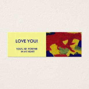 19 mini book business cards and mini book business card templates mini book marker love you mini business card reheart Images