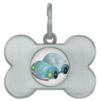 Mini Car Pet ID Tag