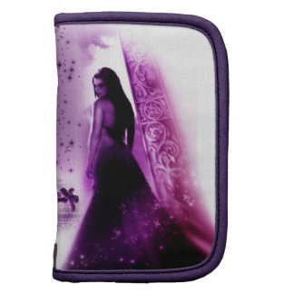 "Mini Folio ""Lilac "" Organizer"