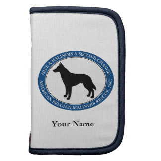 Mini Folio, Malinois Rescue Logo Planners