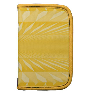 Mini Folio Planner in Soft Yellows