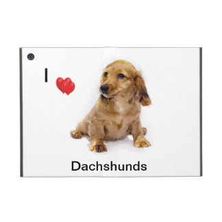 Mini iPad Case  - Dachshund Puppy