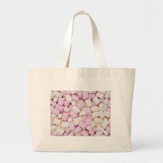 Mini marshmallows large tote bag