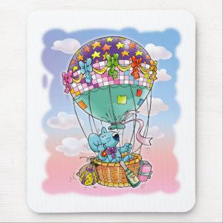 Mini Mice and big balloon Mouse Pad