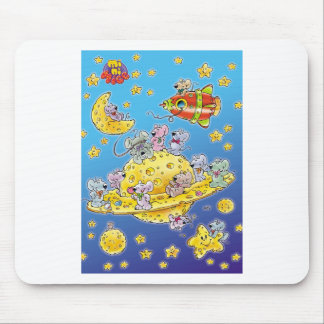 Mini Mice Lost in Space Mouse Pad