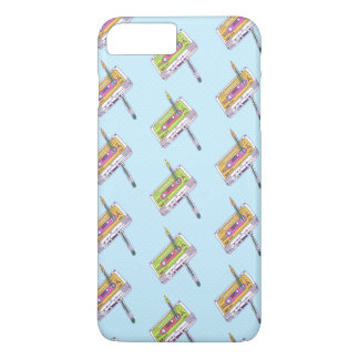 MINI MULTICOLORED CASSETTES Plus, Barely There iPhone 7 Plus Case